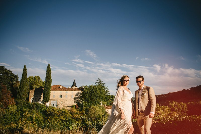 chateau de robernier French wedding