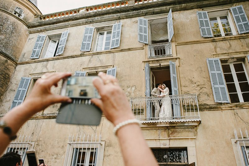 chateau de robernier Var wedding