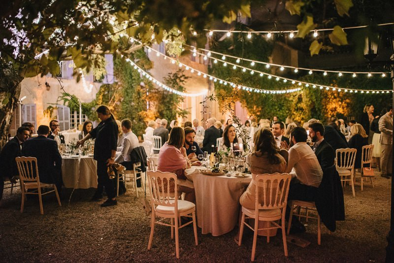chateau de robernier outdoor wedding