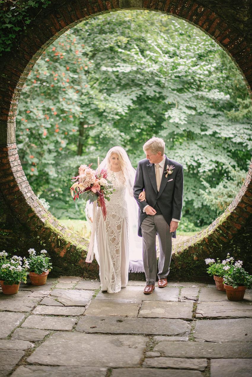 Drenagh Moon Garden Wedding