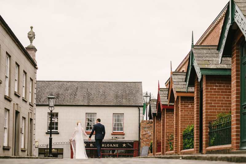 wedding at Ulster Folk Museum Cultra