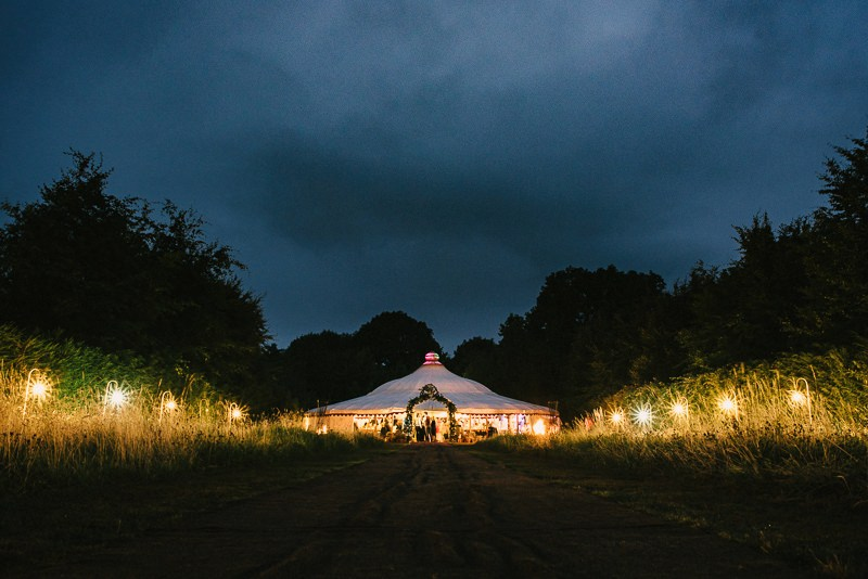 Ballintubbert Wedding Marquee