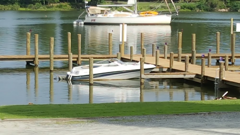 Come for lunch or dinner by water, we have deep water access at our new dock.
