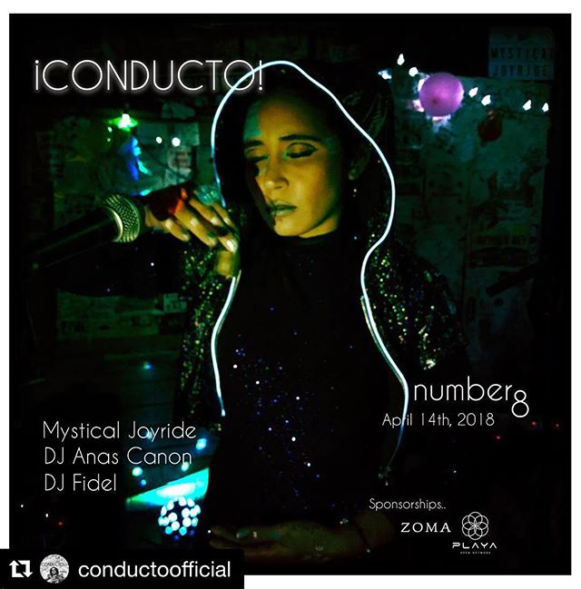 #Repost @conductoofficial ・・・ #CONDUCTO 8 /\ April 14th, 2018. Baja California, Mexico. DJ Anas Canon, DJ Fidel and Special musical guest, @mysticaljoyride #ultratranqi #bajaboutiqeshit