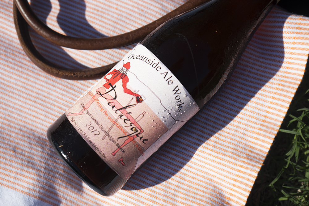 "Oceanside Ale Works ""Daliesque"" Lambic, 2012, $15.99"
