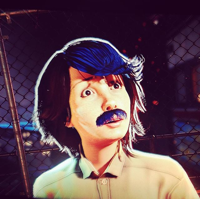 Created the closest approximation of @oldswifty I could in Sunset Overdrive.