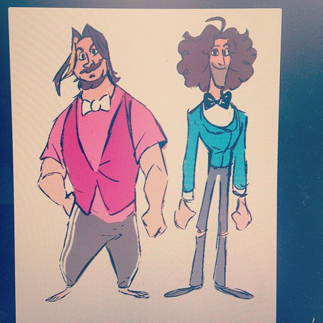 A loose design for the grumps! I'm taking part in a collaboration over the next few months :D