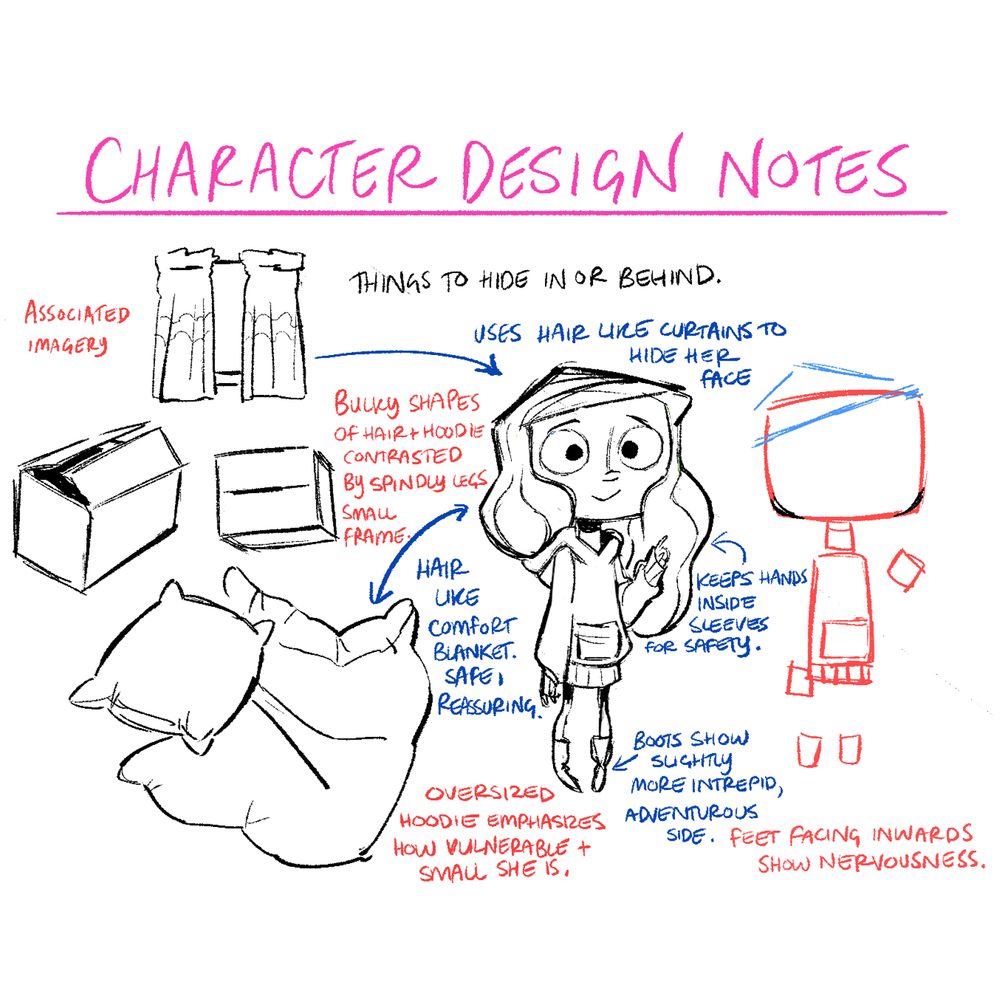 Storytelling in Character Design - Designing characters can be so much more than just creating a 'cool' or 'appealing' image.True innovation comes from digging deep into your character's personality and their role in your story!