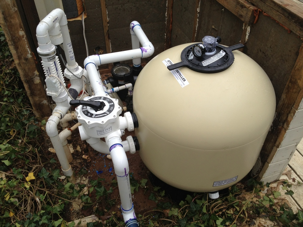 Sand filters vs cartridge filters what is best for your for Inground pool pump and filter systems