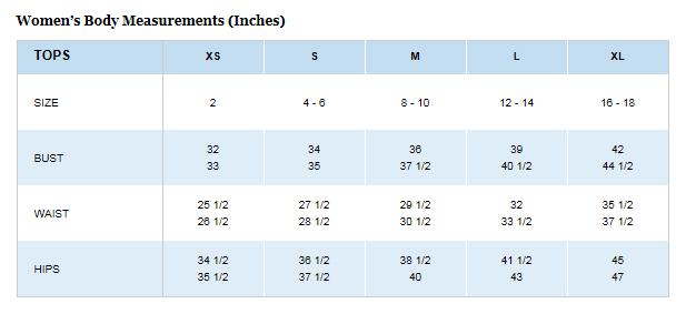 PFG-size-chart
