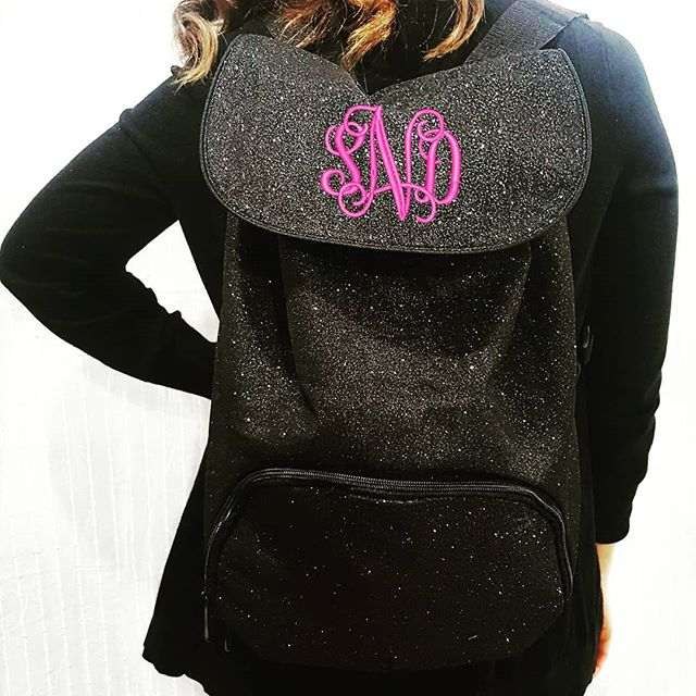 Want to win a little sparkle? Tag your friends to be entered to win our personalized Glitter Backpack! Each tag is an additional entry (tagging accounts with 10k+ followers will not be counted as an entry). Winner chosen Monday 3/5 😙