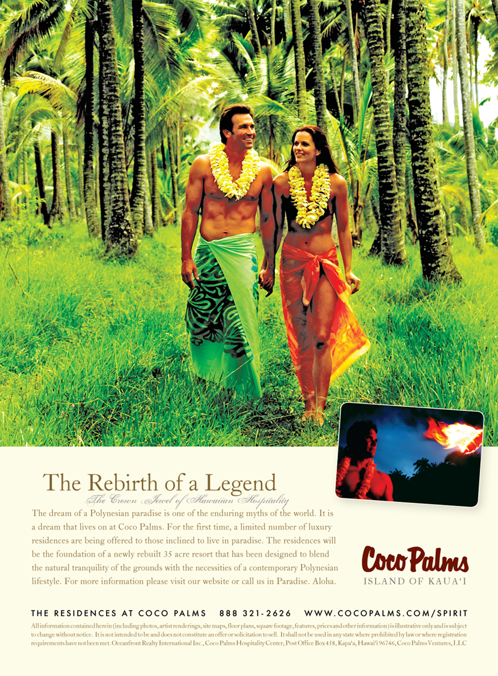 Advertisement: Spirit of Aloha