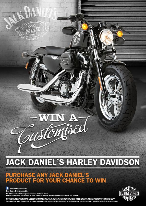 Jack Daniel's Harley Davidson Promotion — Kevin O'Toole Design