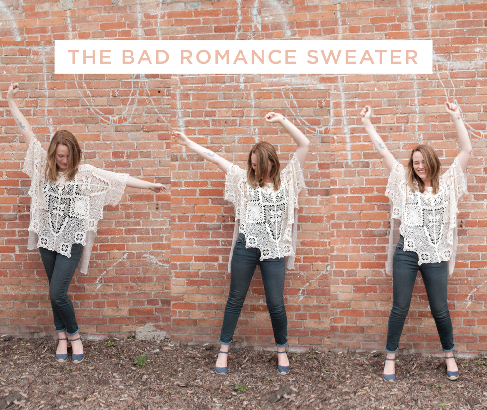 The Bad Romance Sweater