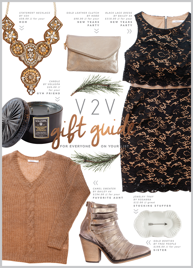 Black and Gold Gift Guide