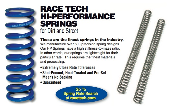 Fork Springs $115    Shock Spring $115