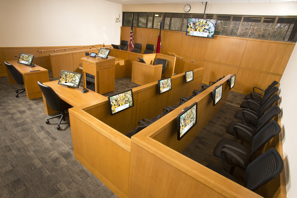 UNC School of Law - Moot Court Room