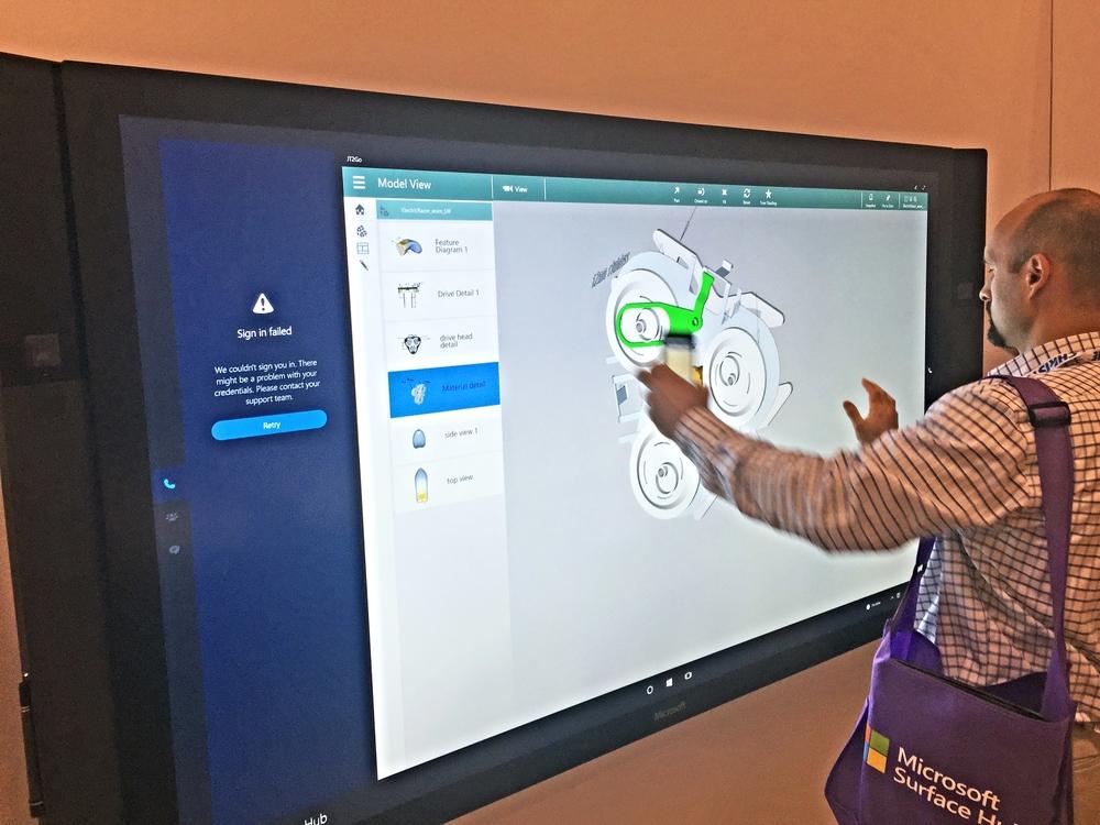 Kontek's Erik Benson puts theMicrosoft Surface Hub to the test