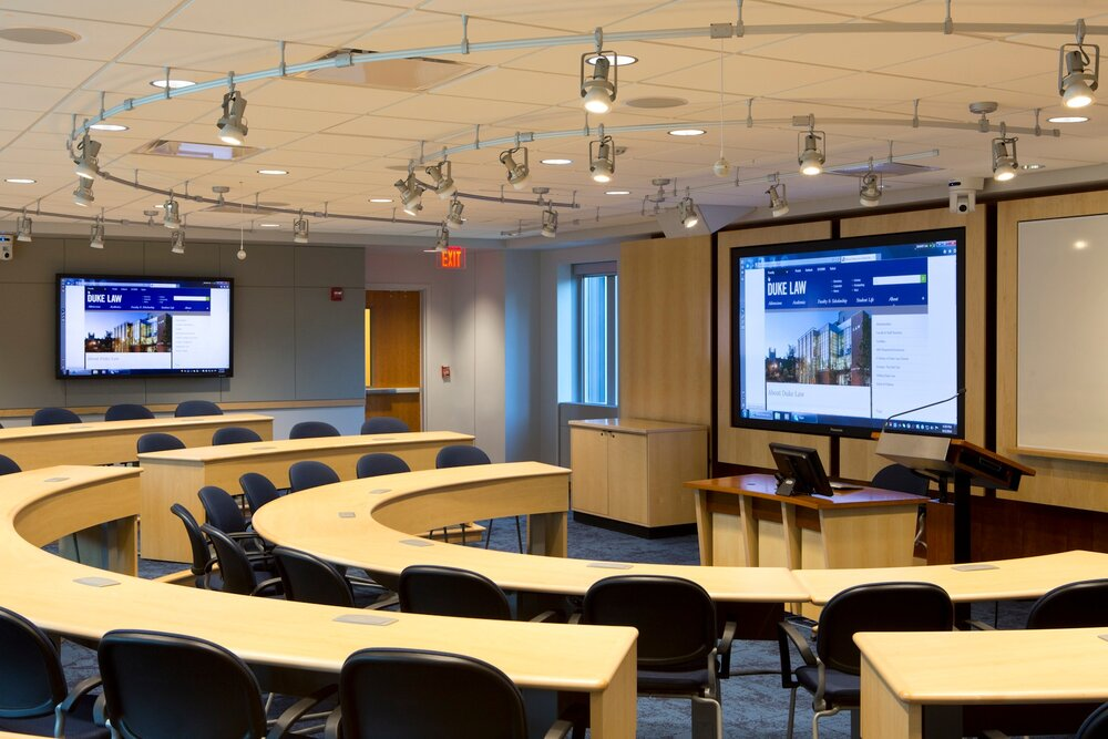 Duke Law School – Classroom 4000