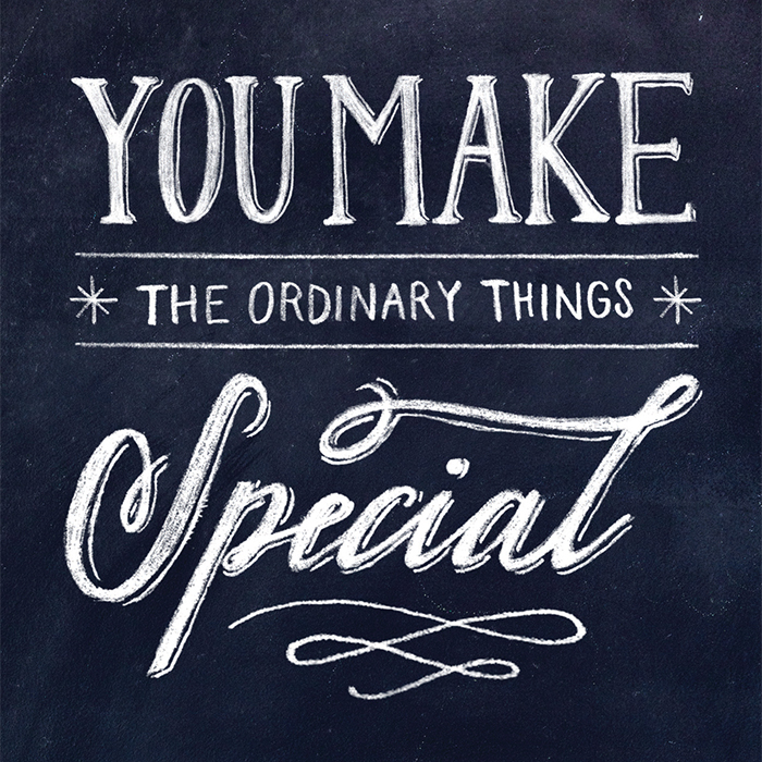 youmaketheordinary