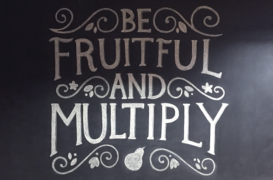 list of fruit be fruitful and multiply
