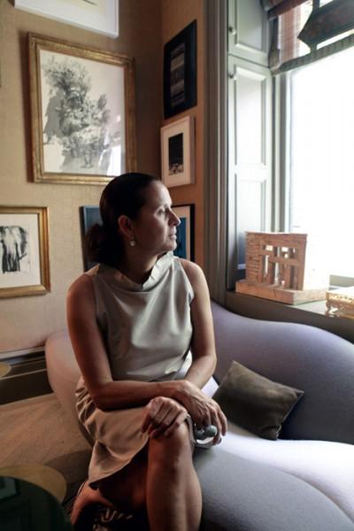 Interior designer Muriel Brandolini