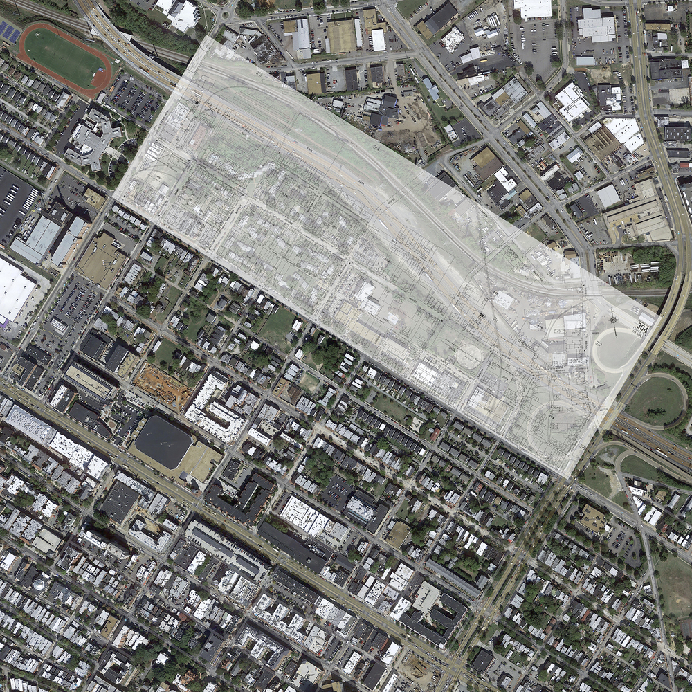 The area of Carver that was destroyed to make I-95