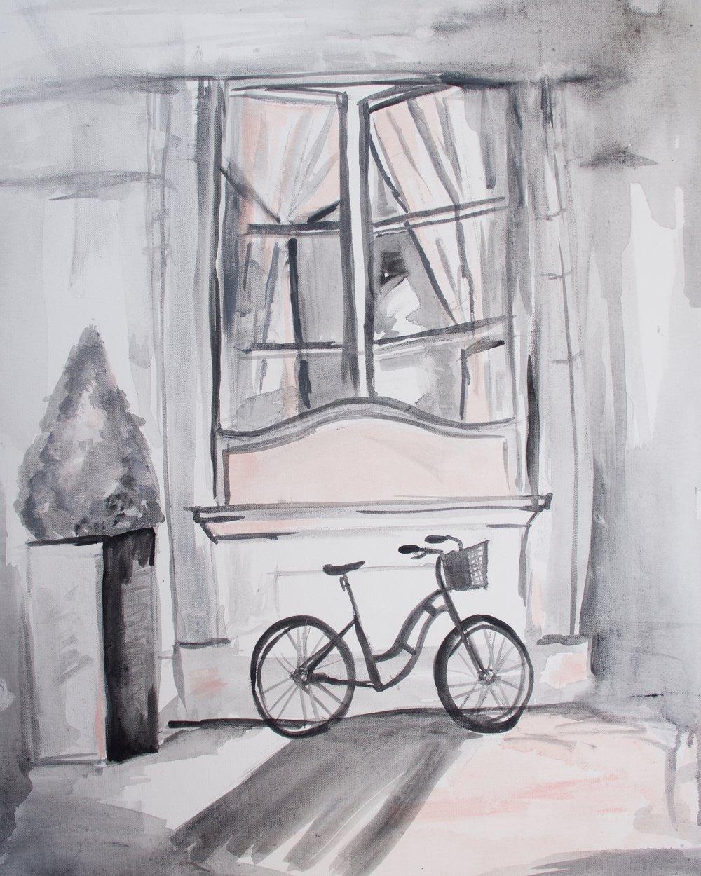 Pink Paris Bicycle