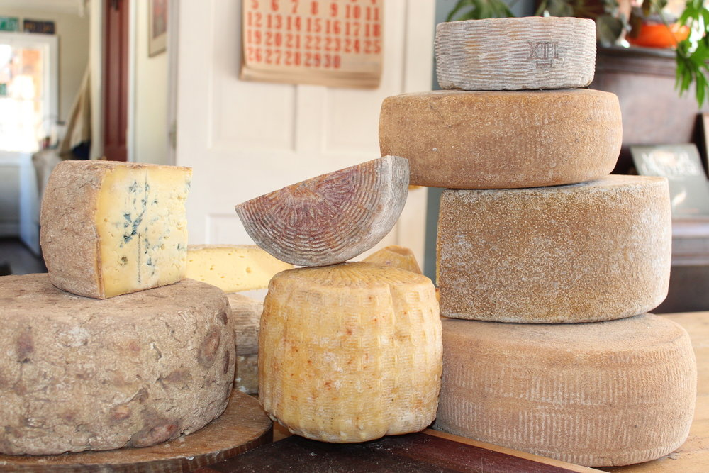 Parish Hill Creamery makes seasonal, handmade, raw-milk cheeses out of Westminster, Vermont. -