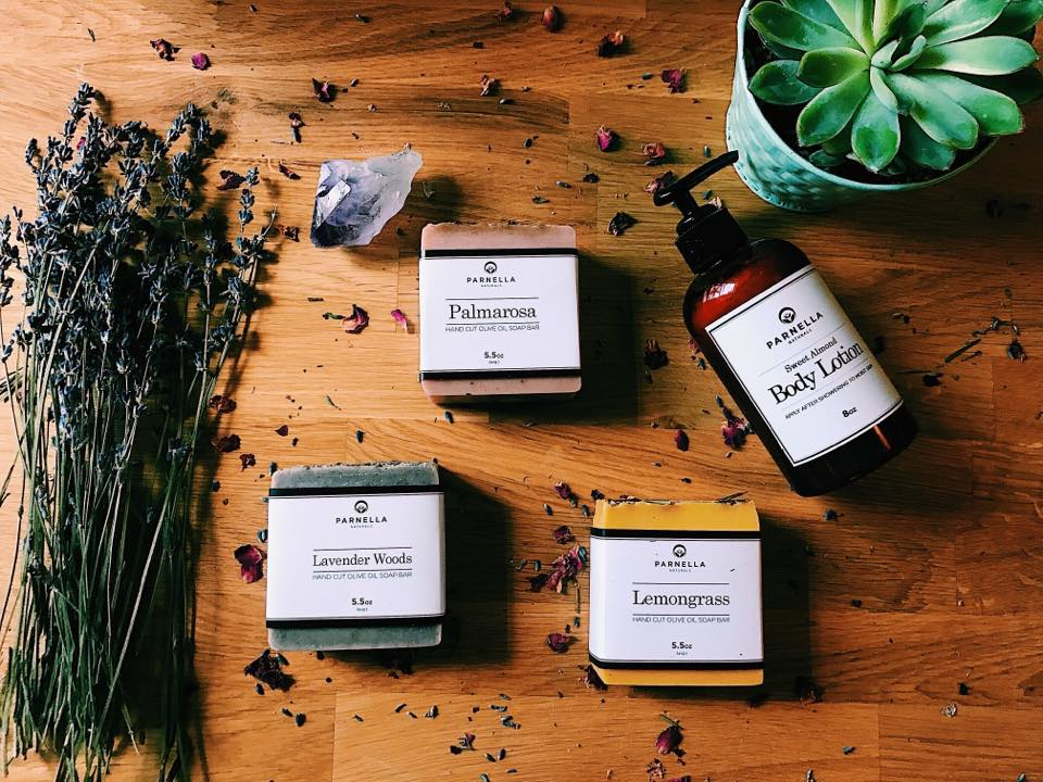 Parnella Naturalsis located in Sunderland Massachusetts. They sell 100% all natural products that are safe for your body, your home, and the environment. Made with pure olive oil, coconut oil, sustainable palm oil, and other essential oils. -