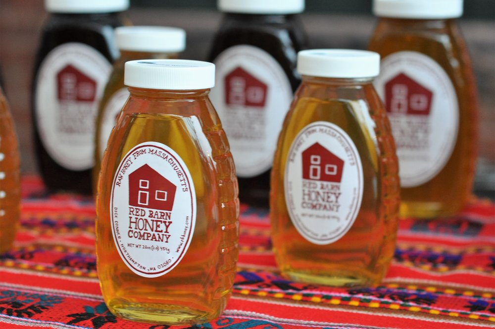 Red Barn Honey Company is a family run business based in Northampton with the goal of producing and selling the finest raw honey. Red Barn sells a wide selection of honey products at the winter market. -