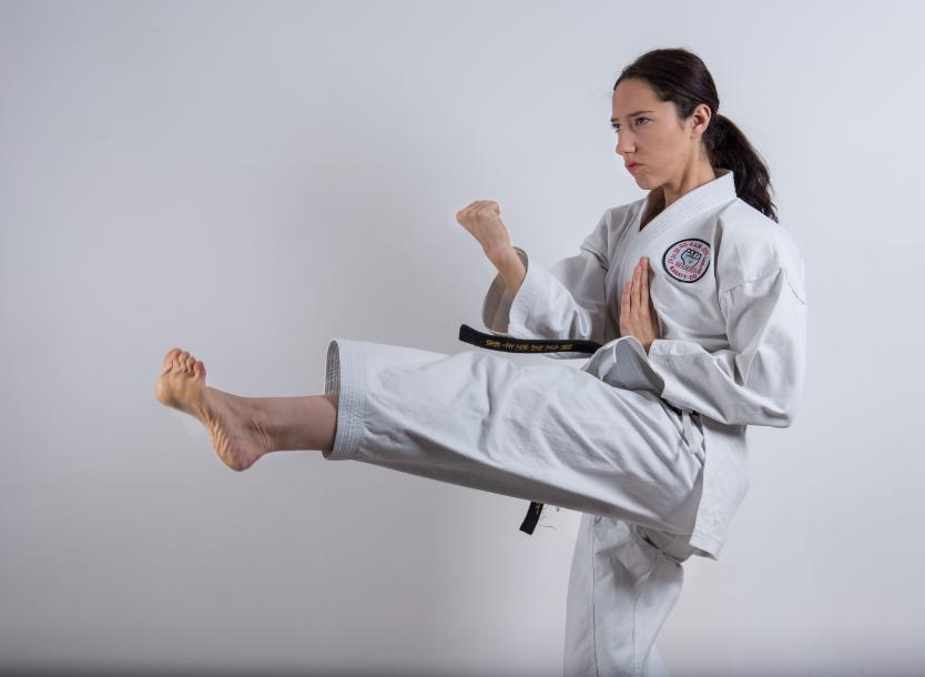 rebecca zammit karate