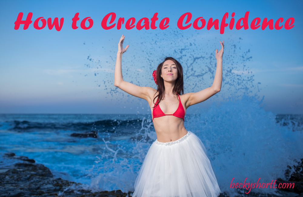 Becky's series on creating confidence