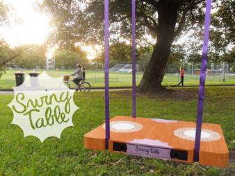 Swing Table swing table — jessica lee parker