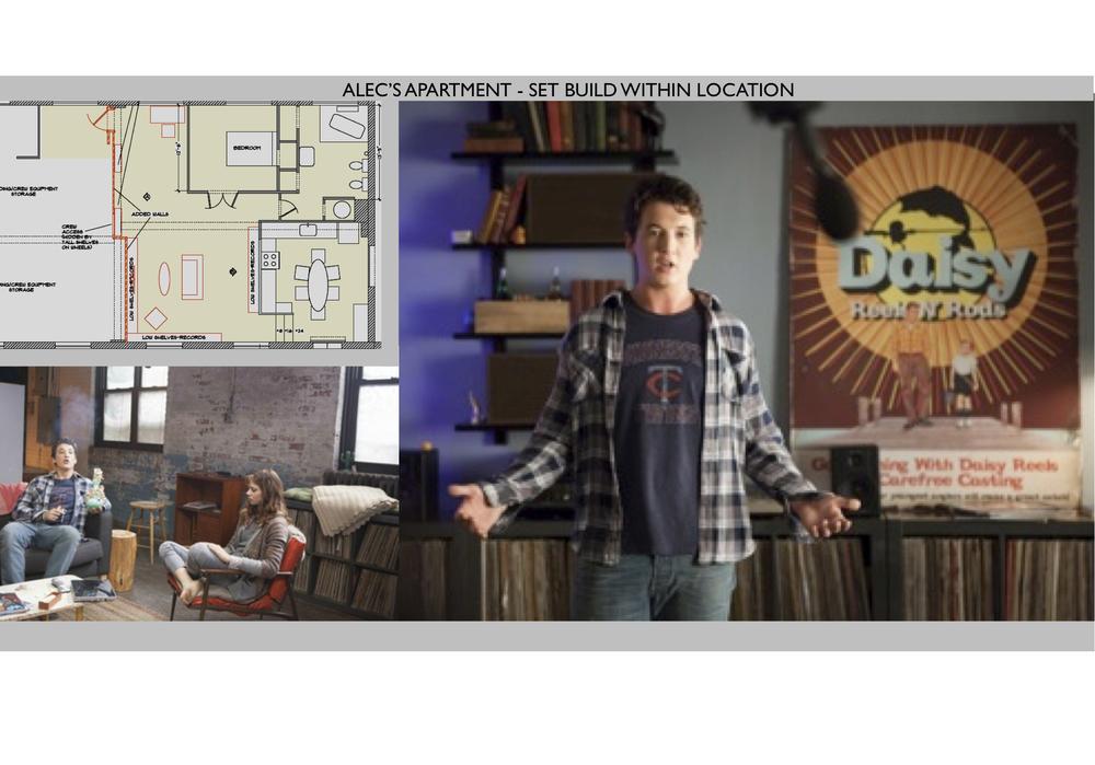 Alec's Apartment Set Build