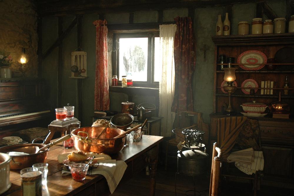 French Farm Interior Set