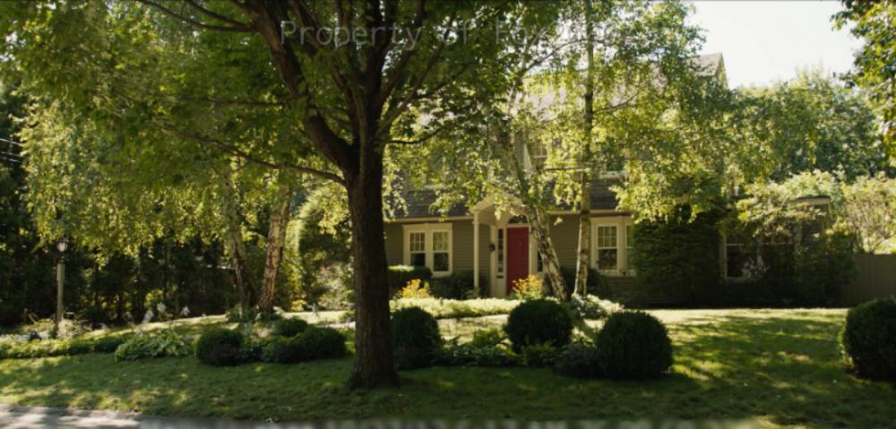 Exterior Hazel's House