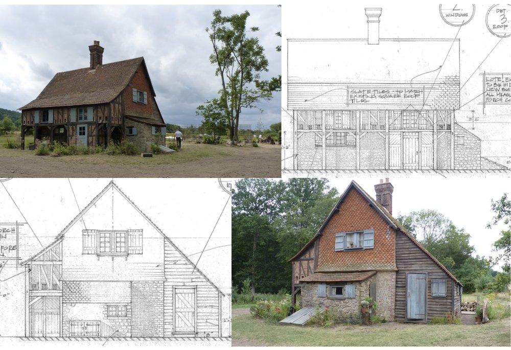 French Farm Set- Farmhouse