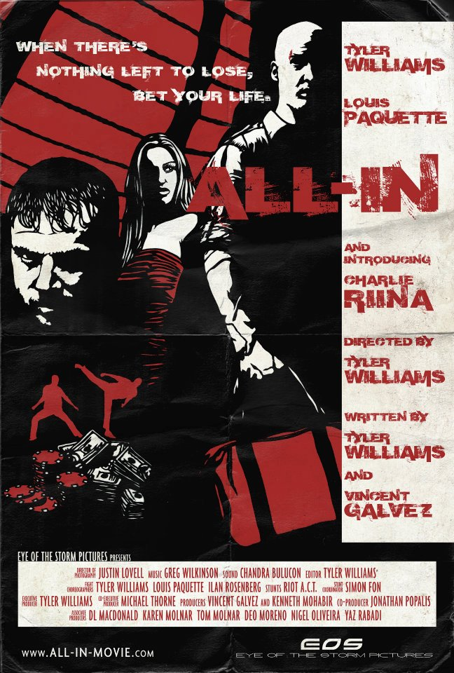 """All In"" Movie Poster 
