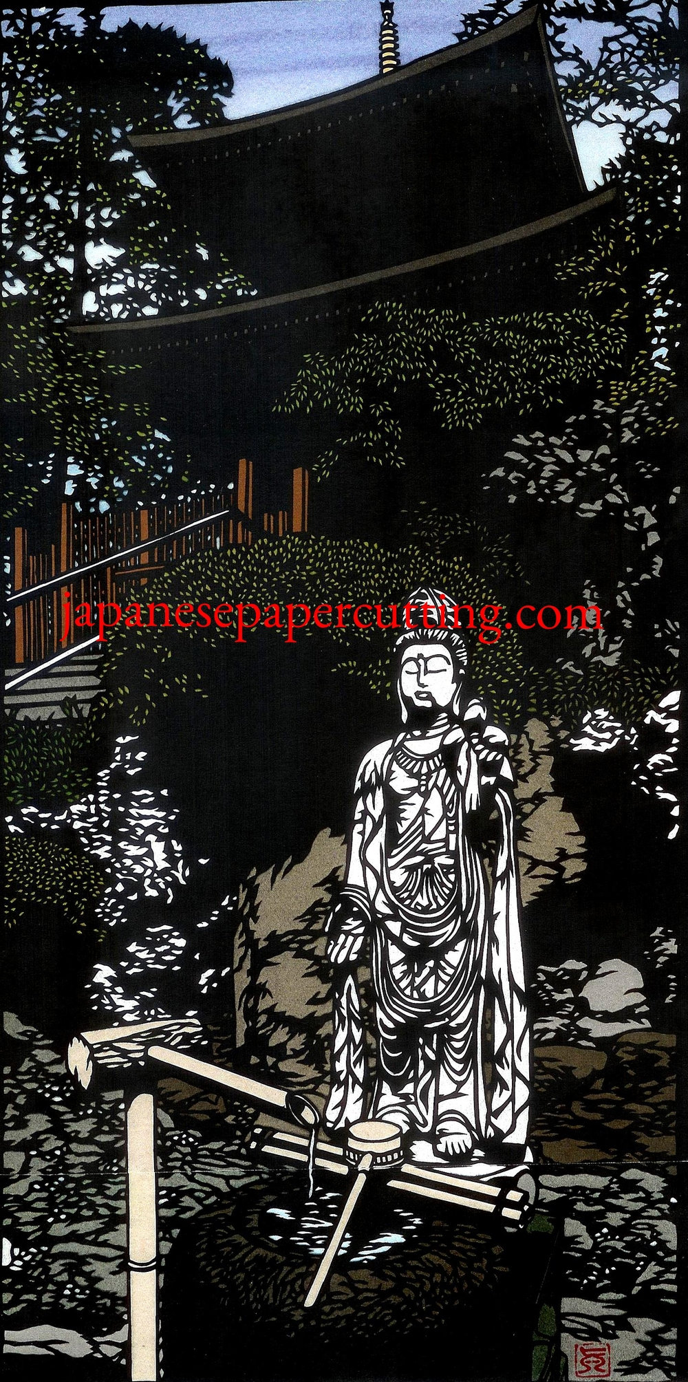 Kannon Statue | 2014 | 22 x 28