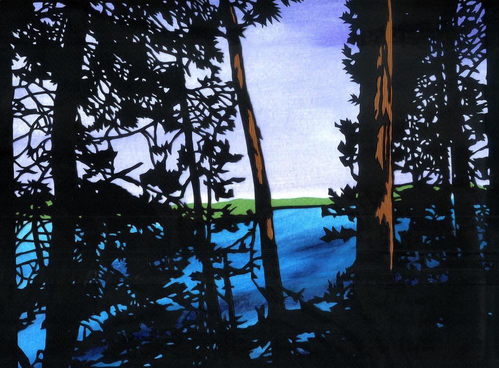 Lake and Trees (2015)