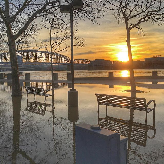 High water #flooding #cincy #cincyusa #cincyigers #wcpo #local12wkrc