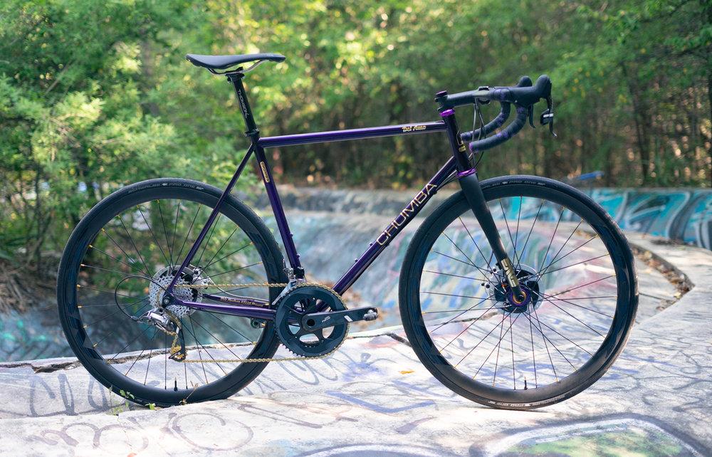 Del Amo w/flat mount TRA option in Lvl 2 Dark Purple