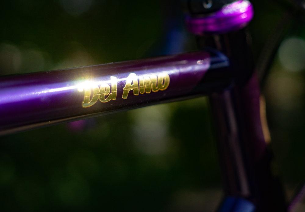 Detail of Lvl 2 Dark Purple color customization