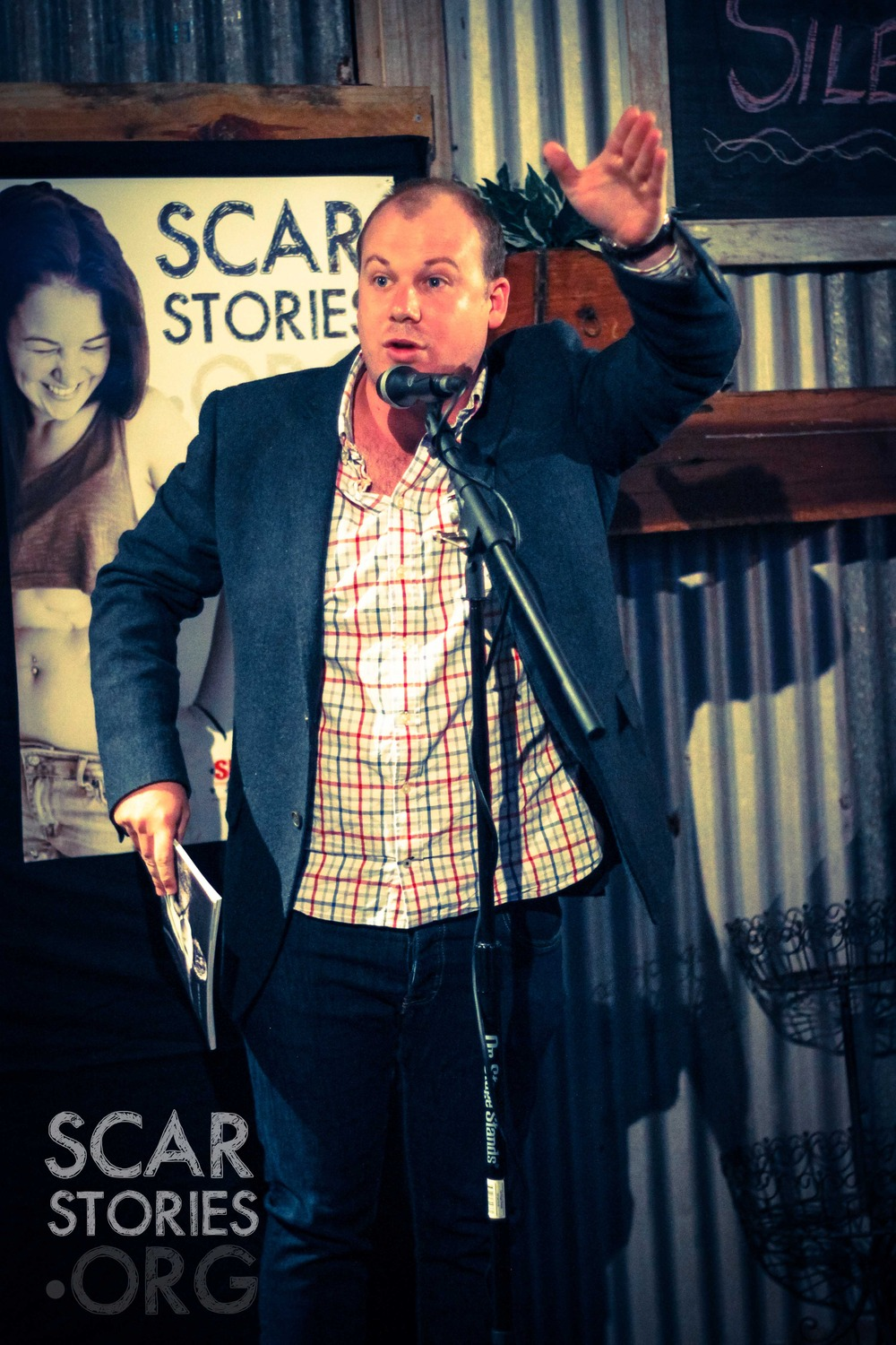 Sam Devlin Auctioneer Scar Stories Book Launch.jpg