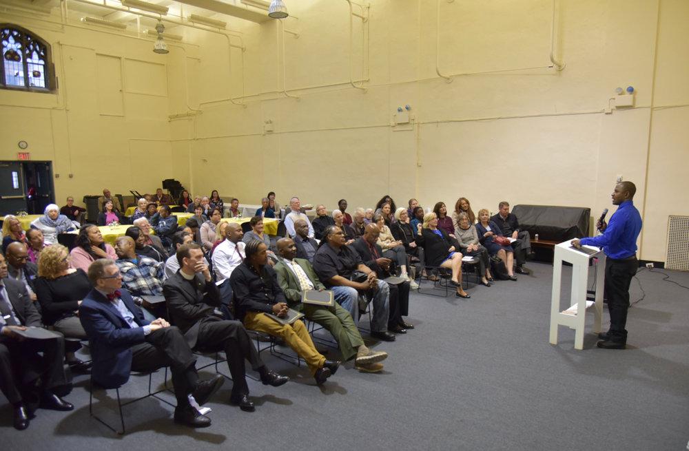Raising My Voice - public speaking course