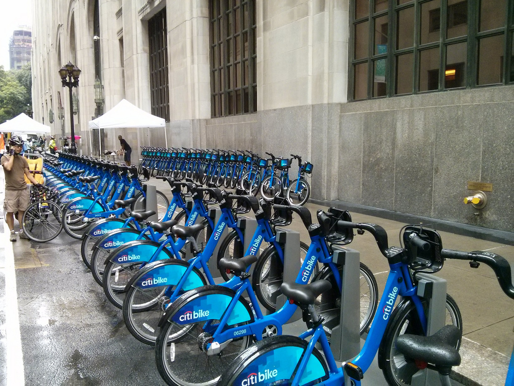 Citibike Bike Share in New York City
