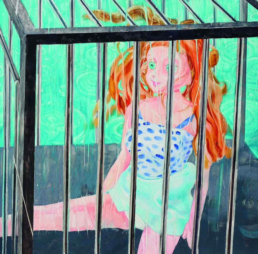 雨中铁笼 Cage made by rain