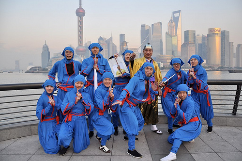 Shanghai Happening - Tomohiro Yamashita A.I.R program