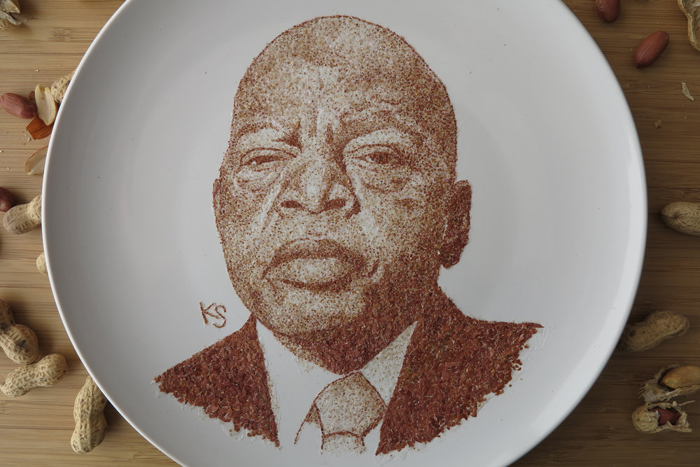rep john lewis close up